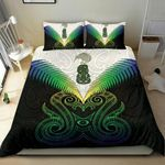 Maori Manaia New Zealand Bedding Set Rasta K4