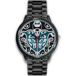 Maori Sign Tui Bird Black Watch K4