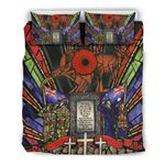 New Zealand Bedding Set, Anzac Day Lest We Forget Australia Duvet Cover And Pillow Case Th00