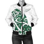 New Zealand Jackets, Maori Silver Fern Women's Bomber Jackets K4