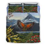 New Zealand Bedding Set, Kea Bird Duvet Cover And Pillow Case A15