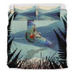 New Zealand Bedding Set, Kea Bird Duvet Cover And Pillow Case K5