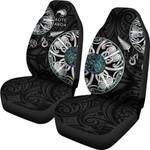 New Zealand Aotearoa Car Seat Covers, Maori Mangopare Paua Shell K4