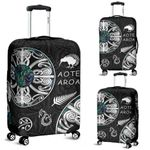 New Zealand Aotearoa Luggage Covers , Maori Mangopare Paua Shell K4