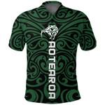 New Zealand Kiwi Polo Shirt, Maori Warrior Moko Golf Shirts K4