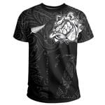 New Zealand Bulldog T Shirt, Maori Bulldog Shirt - Black K5