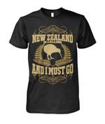 New Zealand Calling T Shirt K5