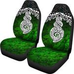New Zealand Maori Car Seat Covers, Poutama Pikorua Double Twist K4 - 1st New Zealand