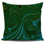 New Zealand Pillow Cover, Koru Fern - Abstract Style 02 K4 - 1st New Zealand