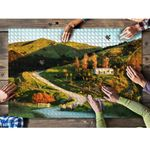 New Zealand Rural Road, House And Farm Land Puzzle K5 - 1st New Zealand