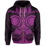 Polynesian Tattoo All Over Print Hoodie Purple TH5 - 1st New Zealand