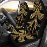 Samoan Tattoo Car Seat Covers Gold TH4 - 1st New Zealand