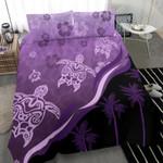 Purple Turtle Hibiscus Bedding Set K5 - 1st New Zealand