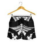 Samoan Tattoo All Over Print Women's Shorts White TH4 - 1st New Zealand