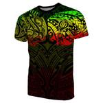 New Zealand T-Shirt, Maori Polynesian Tattoo Reggage TH4 - 1st New Zealand