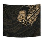 New Zealand Tapestry Maori Lion Tattoo - Gold A74 - 1st New Zealand