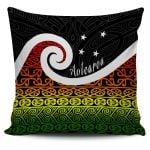 New Zealand Maori Koru Pillow Cover K4 - 1st New Zealand