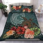 Turtle Polynesian Quilt Bed Set Hibiscus TH5 - 1st New Zealand