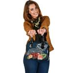 Turtle Polynesian Shoulder Handbag Hibiscus Polynesian TH5 - 1st New Zealand