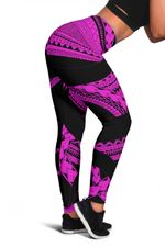 Samoan Tattoo Women's Leggings Purple TH4 - 1st New Zealand
