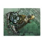 Polynesian Turtle And Hibiscus Jigsaw Puzzle TH5 - 1st New Zealand