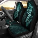 Polynesian Car Seat Covers Turquoise TH5 - 1st New Zealand
