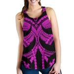 Samoan Tattoo Women's Racerback Tank Purple TH4 - 1st New Zealand