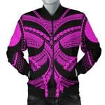 Samoan Tattoo Men's Bomber Jacket Purple TH4 - 1st New Zealand