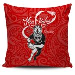 Rugby Kia Kaha Be Strong Pillow Cover - Red Version 2 K4 - 1st New Zealand