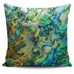New Zealand Paua Shell Pillow Cover K4 - 1st New Zealand