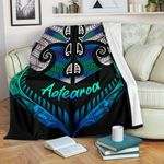 Aotearoa Premium Blanket Silver Fern Tangaroa   1st New Zealand