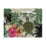 Polynesian Turtle Coconut Tree And Hibiscus Jigsaw Puzzle TH5 - 1st New Zealand