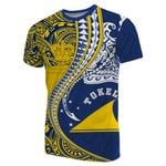 Tokelau T-Shirt Manta Polynesian Coat Of Arms TH65 - 1st New Zealand