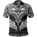 New Zealand The Mana Maori Polo Shirt TH5 - 1st New Zealand