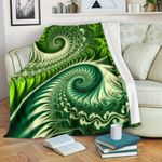 New Zealand Premium Blanket Koru Fern - Abstract Style K4 - 1st New Zealand