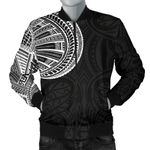 Samoa Tribal Maori Tattoo Roman Reigns Bomber Jacket for Men TH75 - 1st New Zealand