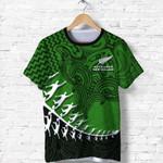 New Zealand Silver Fern Shirt, Maori Manaia Rugby Player T Shirt K4 - 1st New Zealand