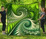 New Zealand Premium Quilt Koru Fern - Abstract Style K4 - 1st New Zealand