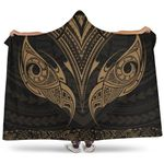 New Zealand The Mana Maori Hooded Blanket Gold TH5 - 1st New Zealand