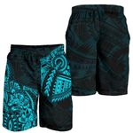 New Zealand Shorts, Maori Wolf Dragon Tattoo Men's All Over Print Board Shorts K4 - 1st New Zealand