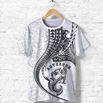 New Zealand T-Shirt Manaia - Kanaloa Tatau Gen NZ (White) TH65 - 1st New Zealand