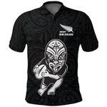New Zealand Rugby New Style Polo Shirt K4 - 1st New Zealand
