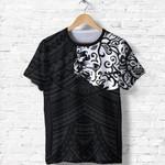 New Zealand T Shirt, Maori Lion Tattoo Shirt - White K57 - 1st New Zealand