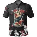Tui Bird New Zealand Polo Shirt, Silver Fern Golf Shirts K5 - 1st New Zealand