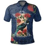 Tui Bird New Zealand Polo Shirt, Pohutukawa Golf Shirts K5 - 1st New Zealand