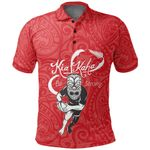 Rugby Kia Kaha Be Strong  Shirt - Red Version 2 K4 - 1st New Zealand