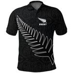 Silver Fern Rugby Polo Shirt K4 - 1st New Zealand