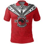 New Zealand Maori Polo Shirt Waitangi Day - Red K54 - 1st New Zealand