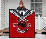New Zealand Maori Quilt Waitangi Day - Red K54 - 1st New Zealand