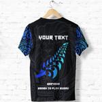 New Zealand Maori Rugby Lion T Shirt - Customized K5 - 1st New Zealand